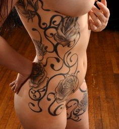 Side tattoo