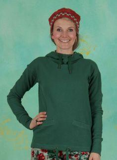 Hoody, Hirtenmädel Hooded Sweat, green-balkan