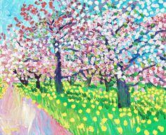 bofransson: INGE SCHIÖLER, Flowering fruit Trees