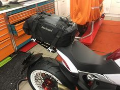 MV Agusta Dragster RR with luggage mount