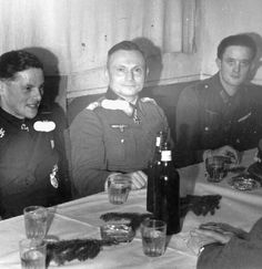 General Hermann Balck: after the end of the WWll, Balck refused to colaborate with the Allies, and rather found himself a job.He worked as a depot worker.