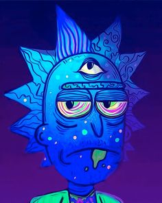 Discover recipes, home ideas, style inspiration and other ideas to try. Trippy Drawings, Cool Art Drawings, Rick And Morty Drawing, Desenhos Halloween, Rick I Morty, Rick And Morty Poster, Psychadelic Art, Trippy Painting, Acid Art