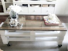 DIY palets table *lalihome