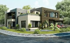 Very Modern House Plans. #modernhouse #home #sweethome
