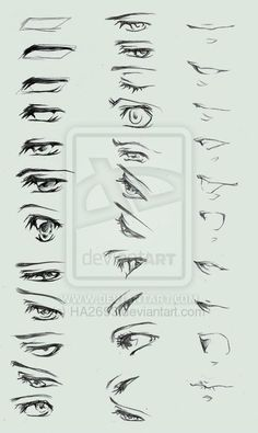 .:Tutorial:. Eyes and Lips by HA2693 on DeviantArt