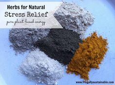 Herbs for Natural Stress Relief