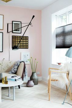A Study in Contrasts: Pastels and Black