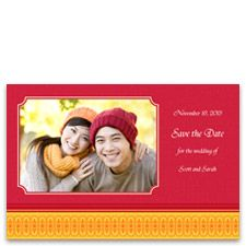 Use a photo of the two of you at a special place to let guests know to keep that date open. Make the cards at a KODAK Picture Kiosk near you. #wedding #photography #ideas