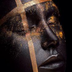 Delphie Make up. Retouch : Christelle Cossart #christelle.cossart.free.fr