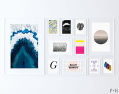 33 More Free Modern Art Printables
