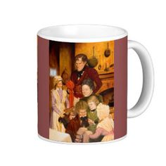 The Cratchit Family Classic White Coffee Mug