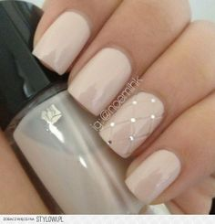 Pomysł na ślubny manicure. | whiteDay.pl na Stylowi.pl