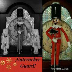 Night 12 2016 Elf on the Shelf and his nutcracker guard!