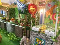 Jungle Safari Birthday Party Ideas   Photo 9 of 16   Catch My Party