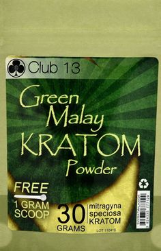 Club 13 Kratom is A very popular Indonesian green veined strain. It is historically known for its highly relaxing and relieving effects.  Clube 13 i available in regular and extra strength.