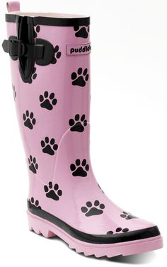 The pinkest wellie we do! Fall Winter, Autumn, Rubber Rain Boots, Footwear, Pink, Shoes, Fashion, Moda, Fall