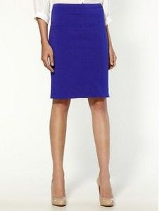 Tinley Road Solid Ponte Pencil Skirt | Piperlime more colors -$49