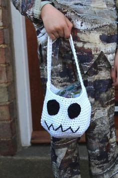 Ghost Goody Bag  Halloween Trick or Treat by LookingGlassDesigns1