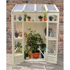 Tesco direct: Timberdale Victorian Tall Wall Greenhouse