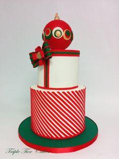 Christmas cake - Cake by Triple Tier Cakes