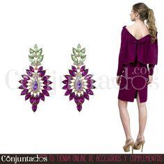 Simplemente espectaculares los pendientes Carolina ★ 14,95 € en https://www.conjuntados.com/es/pendientes-carolina-en-morado-y-verde.html ★ #novedades #pendientes #earrings #conjuntados #conjuntada #joyitas #lowcost #jewelry #bisutería #bijoux #accesorios #complementos #moda #eventos #bodas #wedding #party #invitadaperfecta #fashion #fashionadicct #picoftheday #outfit #estilo #style #GustosParaTodas #ParaTodosLosGustos