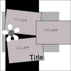 3 horizontal 4x6 photos