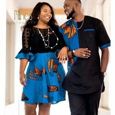 Ankara styles for couples 2018 Latest African Styles - Ankara styles for couples 2018 Latest African Styles - Couples African Outfits, African Clothing For Men, Couple Outfits, African Attire, African Wear, African Dress, African Lace, African Fashion Designers, African Print Fashion