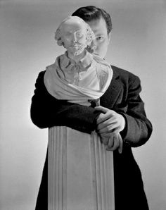 Cecil Beaton Photography | Orson Welles and William Shakespeare