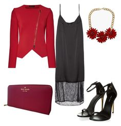 """""""Untitled #318"""" by sikarjazmin on Polyvore featuring Roland Mouret, Topshop and Kate Spade"""