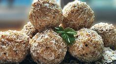 Kule jaglane Krispie Treats, Rice Krispies, Muffin, Breakfast, Ethnic Recipes, Food, Diet, Morning Coffee, Essen