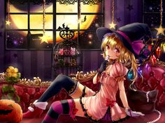 Dressed up for Halloween. Shironeko Yuuki.