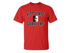 cc63fd01e8dcd 65 Top Pitt State Gorilla Men s Fan Gear images