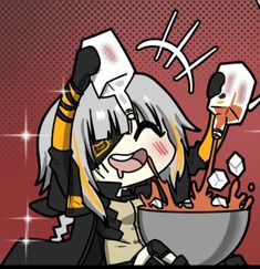 Anime Chibi, Anime Art, Military Archives, Anime Wallpaper Live, Meme Pictures, Kawaii, Big Guns, Girls Frontline, Anime Style