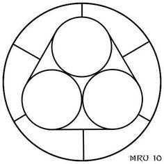 Mandala facil rodones