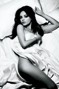 Mila Kunis..our mutual crush. Lol