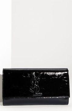handbags, evening clutch, black