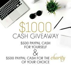 Head to --> @bespokebabyco next. . .  We have teamed up with some of our FAVOURITE Instagram accounts to give away $1000 in PayPal Cash! $500 for you and $500 for the Charity of YOUR choice!! !!!! .  1 Prize with 2 Winners yourself and your charity!!!  . . To enter simply: . 1 FOLLOW us (We always check ). .  2 LIKE this post. This is your entry. .  3 FOLLOW  @bespokebabyco Next. .  4 We love to hear from our followers so feel free to comment below with the charity you would choose to donate…
