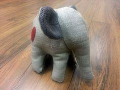 """""""Ellie the elephant"""" Handmade Soft Toys, Plushies, Dinosaur Stuffed Animal, Elephant, Animals, South Africa, Facebook, Animales, Animaux"""