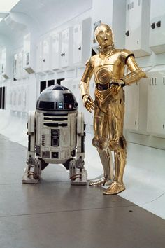 Star Wars Droids Droid Robot Robots R2-D2 R2D2 C-3PO C3PO Sci-Fi Science Fiction Fantasy A New Hope Episode IV