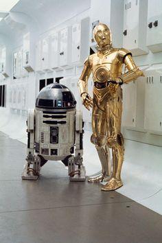 Star Wars Droids Droid Robot Robots R2-D2 R2D2 C-3PO C3PO Sci-Fi Science Fiction Fantasy A New Hope Episode IV