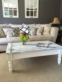 Gorgeous Distressed Coffee Table By DistressedMother On Etsy. Distressed Coffee  TablesCleveland