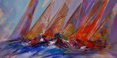 Greek #sea Retzas, painter. #Oil #painting www.eshop-art.gr