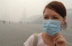 Contaminación ambiental agrava males respiratorios