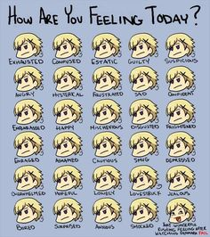 how are you feeling today (Norway XD)