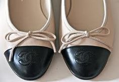 Two-toned Chanel Ballerina