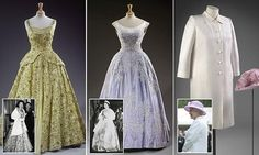 The Queen's historic gowns will go on display to mark her 90th birthday - including bejewelled ball gowns and a velvet outfit worthy of the Pope | Daily Mail Online