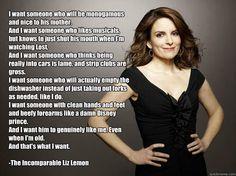 Gotta love Liz Lemon