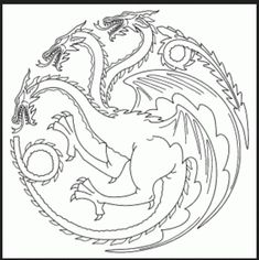 Game of Thrones Coloring Book Coloring