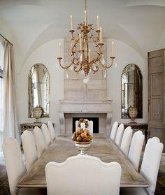 Dining room via indulgy.com