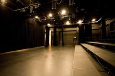 I'm in love with the drama and simplicity of a black box theatre.  Something about it just slays me